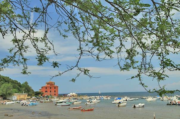 Badeurlaub am Baratti Beach am Golf von Baratti, Populonia