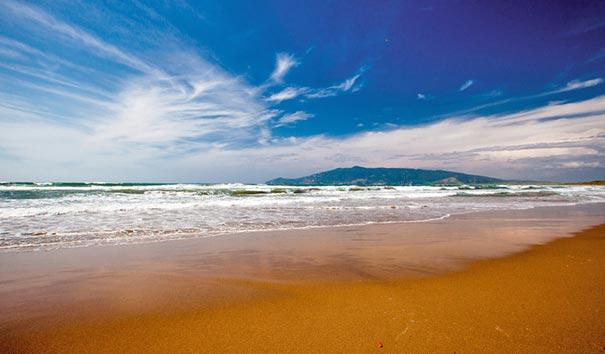 Badeurlaub am Strand von Ansedonia in Maremma, Toskana