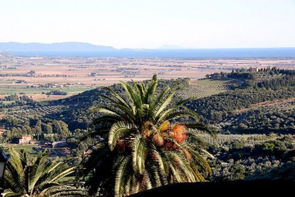 Blick auf den Golf von Follonica