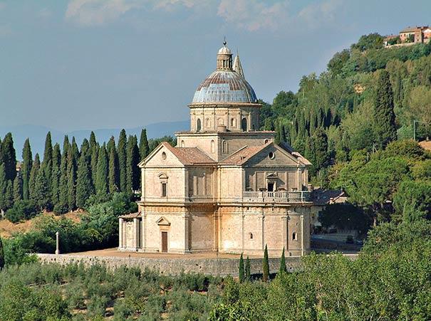 Wallfahrtskirche Madonna di San Biagio in Montepulciano