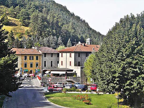 Palazzuolo sul Senio auf dem Hochplateau des Alta Valle del Senio
