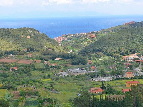 Rio Marina am Meer auf Elba