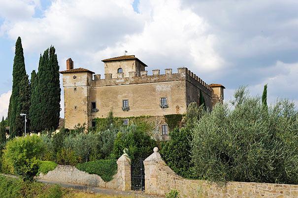 Kastell in Barberino Val d'Elsa