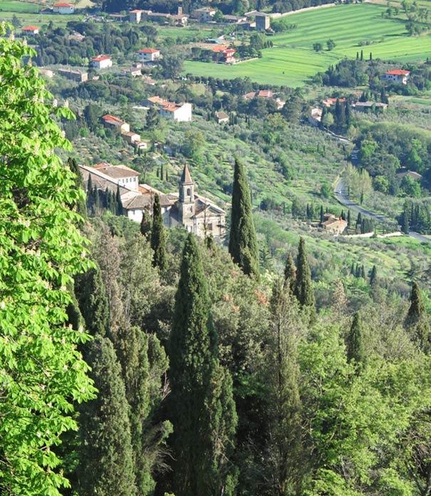 Ferien on Cortona bieten Natu rpur