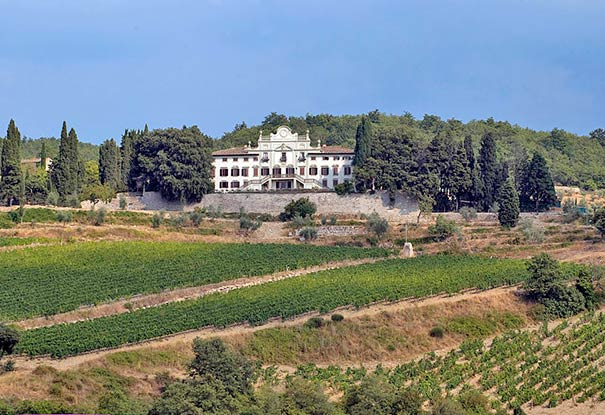 Die Villa Vistarenni