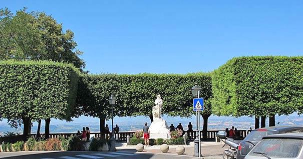 Montaione bietet reizvolle Aussichten
