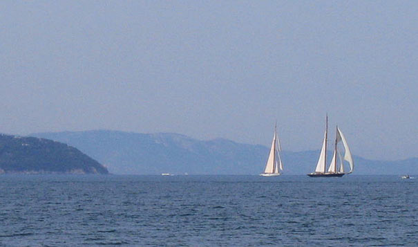 Segelboote bei Monte Argentario