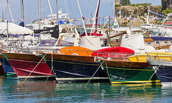 Boote in Porto Ercole