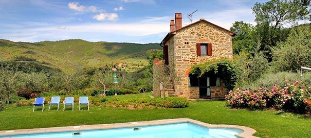 Ferienwohnung oder Ferienhaus in der Toskana buchen