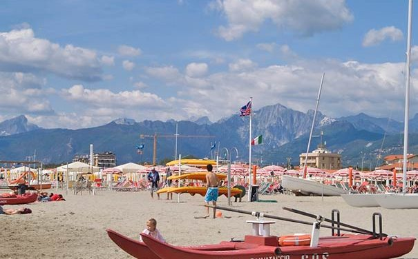 Strand von Lido di Camaiore