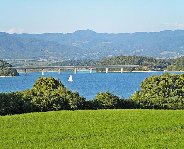 Lago Bilancino im Mugello