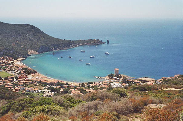 Strand Campese auf der toskanischen Insel Giglio