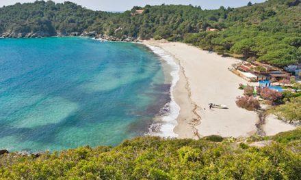 Fetovaia-Bucht auf der Insel Elba