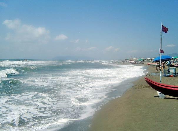 Strand von Forte dei Marmi – Versilia