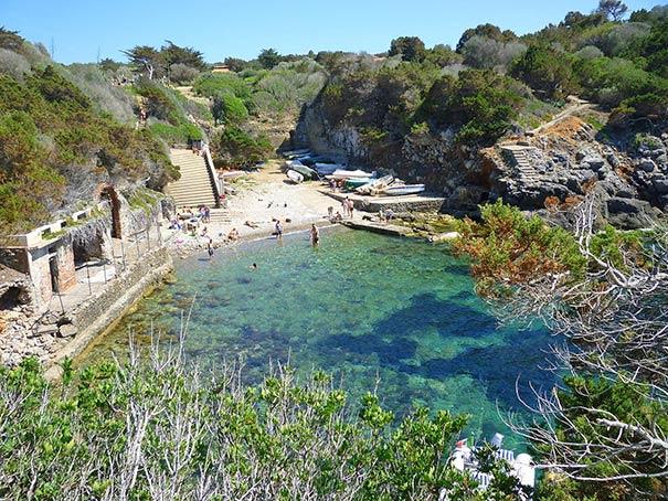 Porto Romano auf der Insel Giannutri