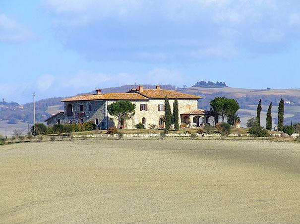 Bauernhaus im Val d'Orcia