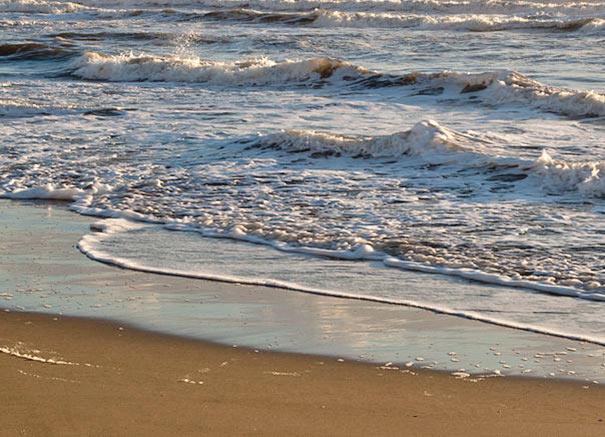 Meer am Strand von Forte dei Marmi