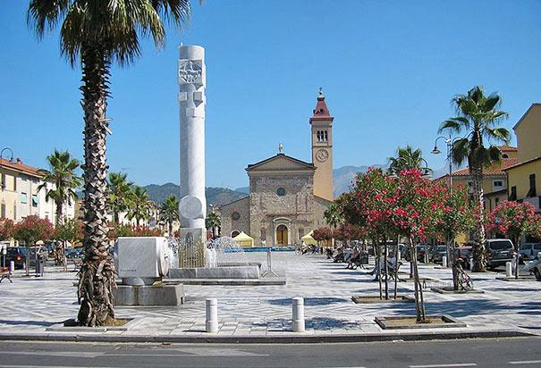 Marina di Carrara an der Versilia