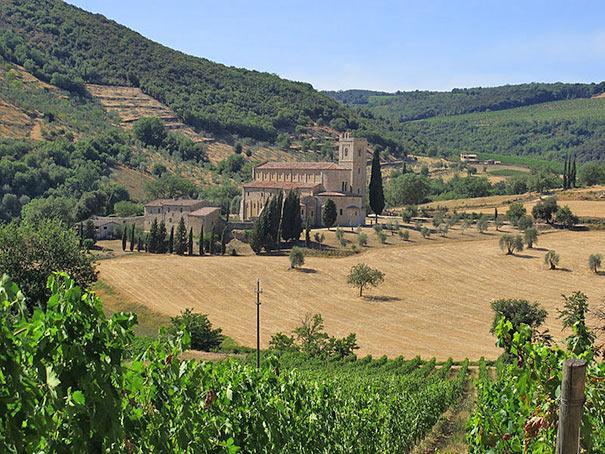Abtei in Montalcino