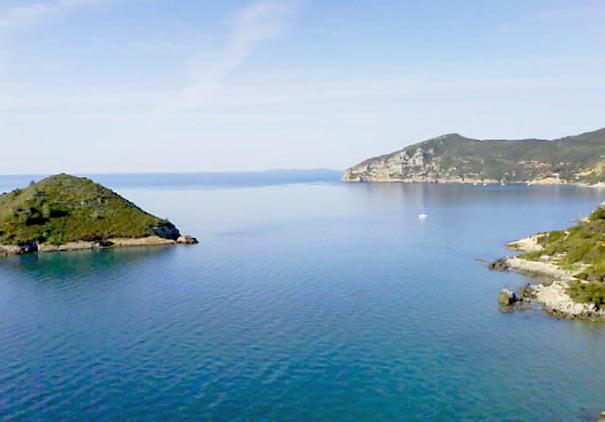 Küste bei Monte Argentario und Porto Santo Stefano