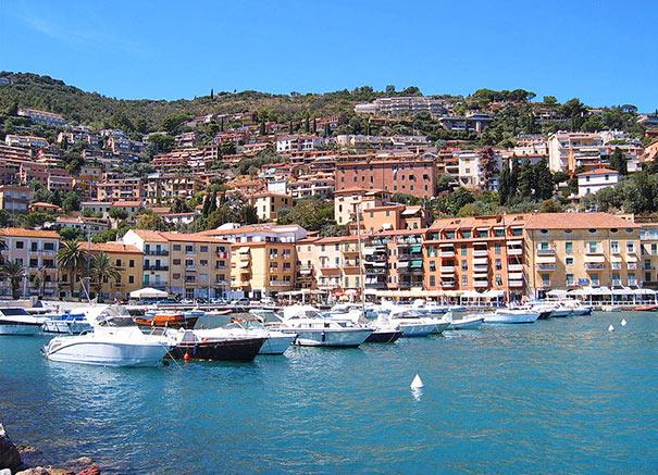 Hafen von Porto Santo Stefano