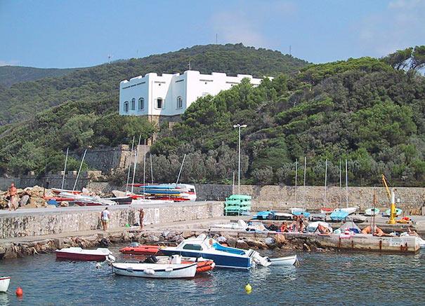Hafen in Quercianella