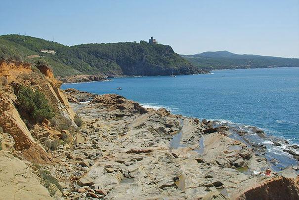 Sassoscritto Küste bei Livorno