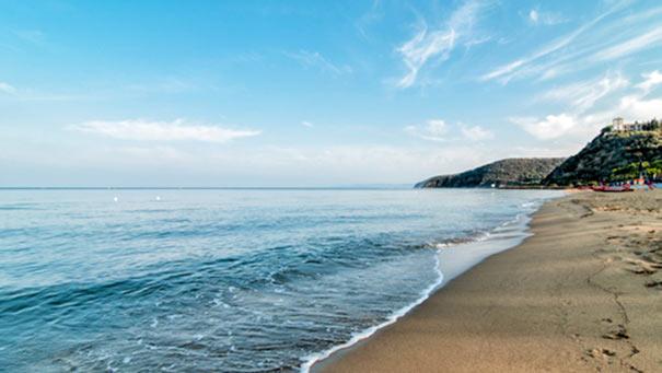 Strand von Punta Ala bei Castiglione della Pescaia