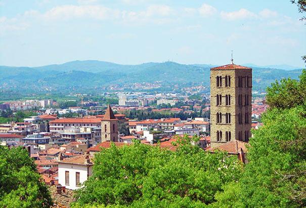 Ansicht von Arezzo