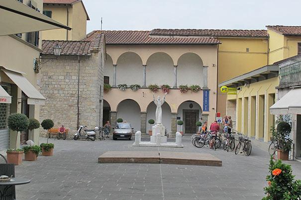 Das Kunstmuseum in Camaiore