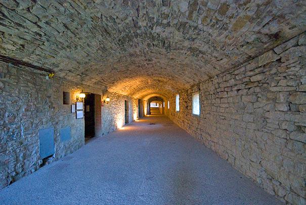 Via delle Volte in Castellina in Chianti