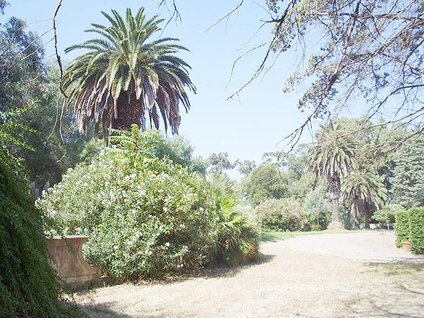 Park der Villa Malenchini in Castiglione della Pescaia