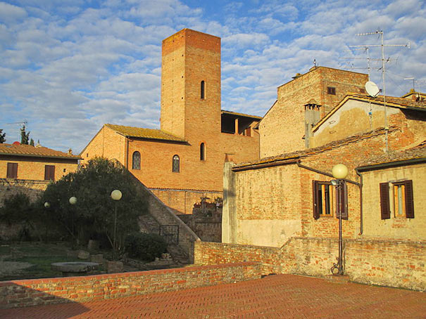 Haus Giovanni Boccaccios in Certaldo