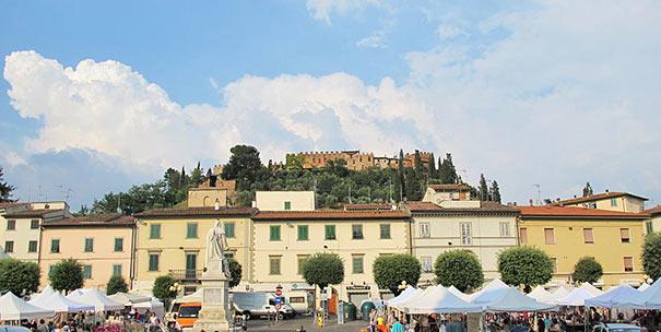 Piazza Boccaccio in Certaldo