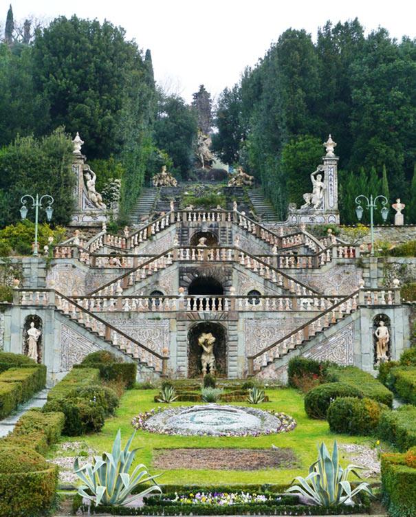 Garten der Villa Garzoni