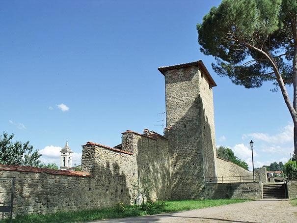 Stadtmauer um Figline Valdarno