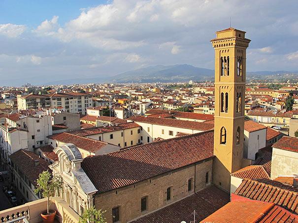 Schöner Blick über Florenz