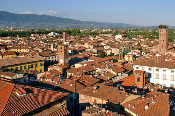 Panoramablick über die Stadt
