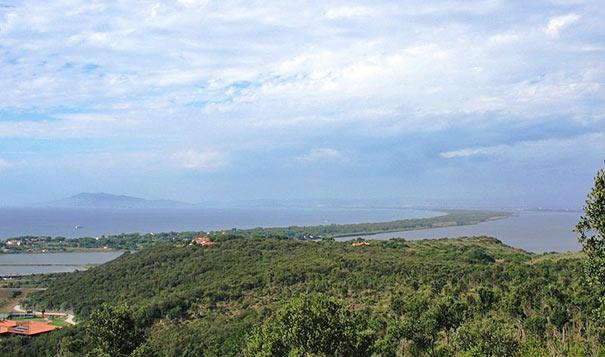 Landschaft im Monte Argentario