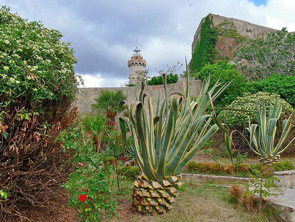 Garten der Villa Mulini