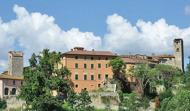 Ansicht von Rapolano Terme
