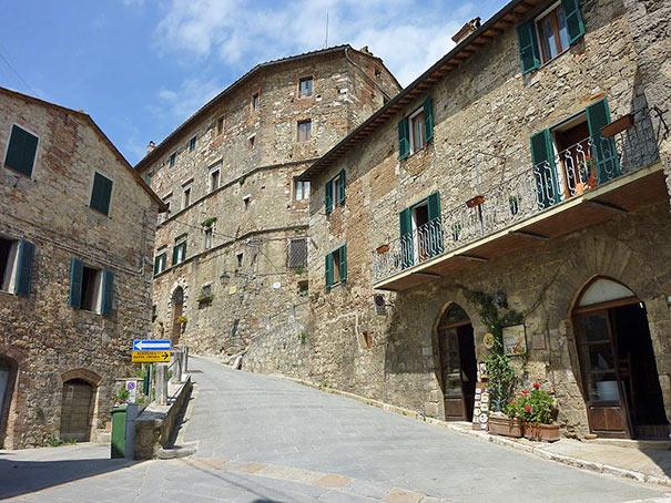 Ortskern von Sarteano