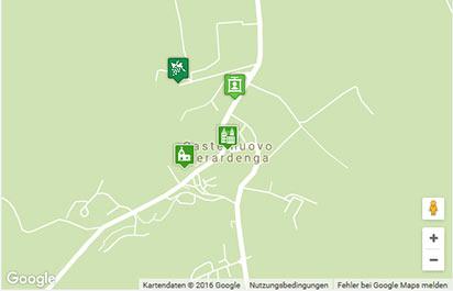 Castelnuovo Berardenga Karte