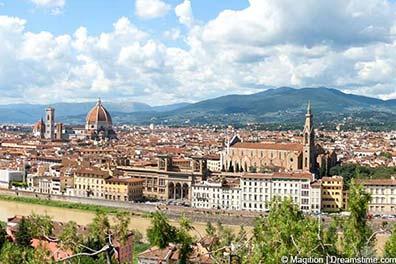 Panoramablick über Florenz