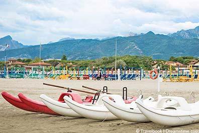 Strand in Forte dei Marmi
