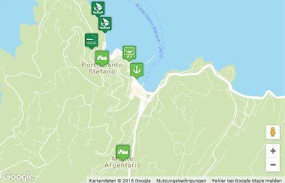 Monte Argentario Karte