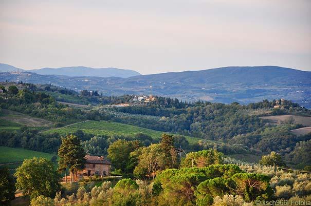 Landschaft bei Montespertoli