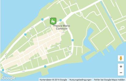 Orbetello Karte