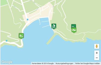 Porto Azzurro Karte