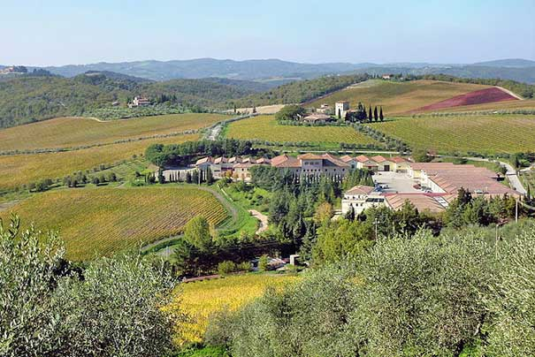 Weingut in Gaiole in Chianti